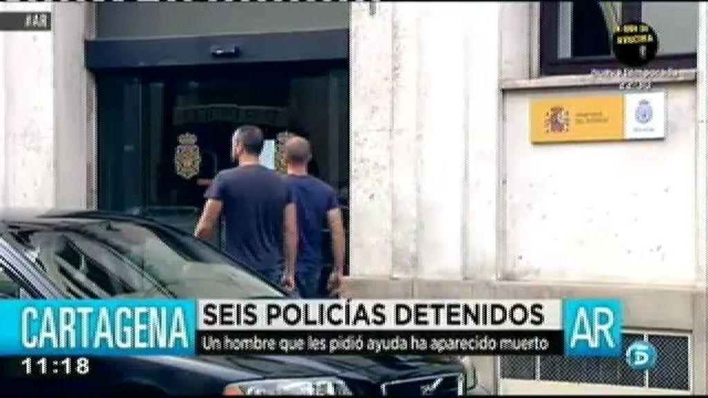 Seis policías han sido detenidos por el asesinato de un hombre en Cartagena