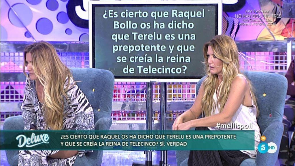 """Raquel Bollo, de Terelu según Las Mellis: """"Es una persona prepotente y se cree la reina"""""""