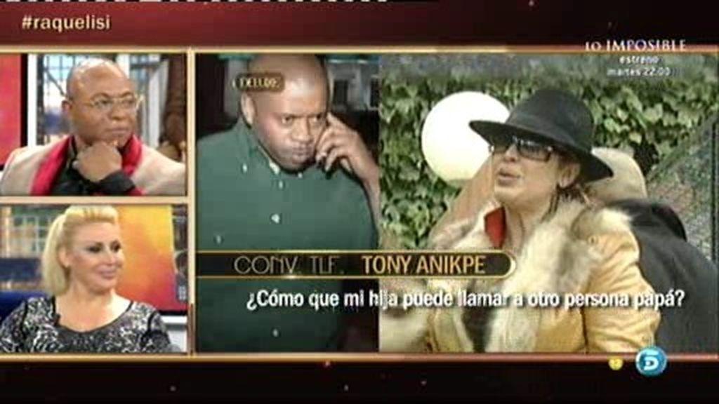 """Isi, novio de Raquel Mosquera: """"Creo que Tony Anikpe no es mala persona"""""""