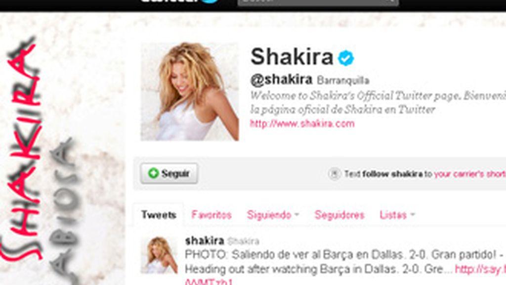 La cantante colombiana reina en la red social con más de siete millones de seguidores.