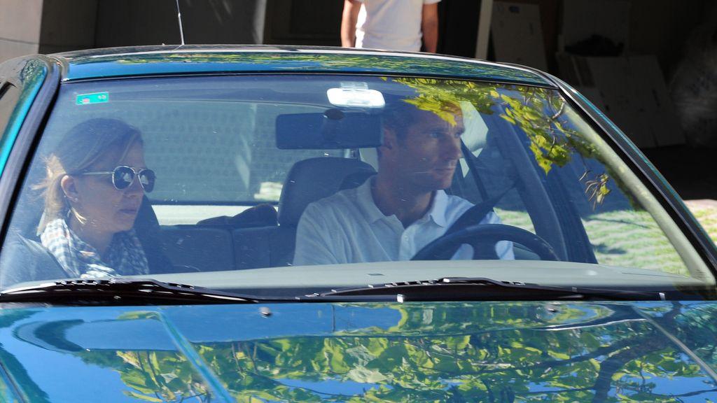 Los duques de Palma, en una de sus últimas apariciones en agosto en Barcelona