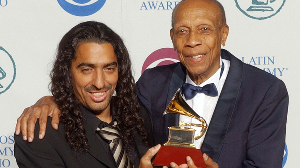 Diego El Cigala y Bebo Valdés celebran el Grammy por 'Lágrimas negras'