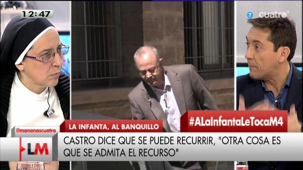 """Sor Lucía: """"El juez Castro es un héroe"""""""