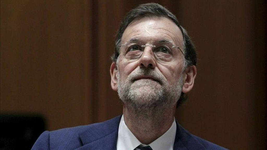 El presidente del PP, Mariano Rajoy. EFE