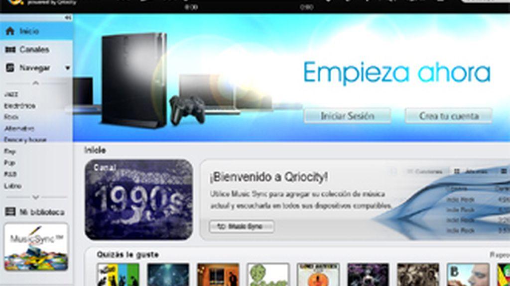El servicio musical de Sony vía Qriocity en la nube, llega a los usuarios de dispositivos móviles Android.
