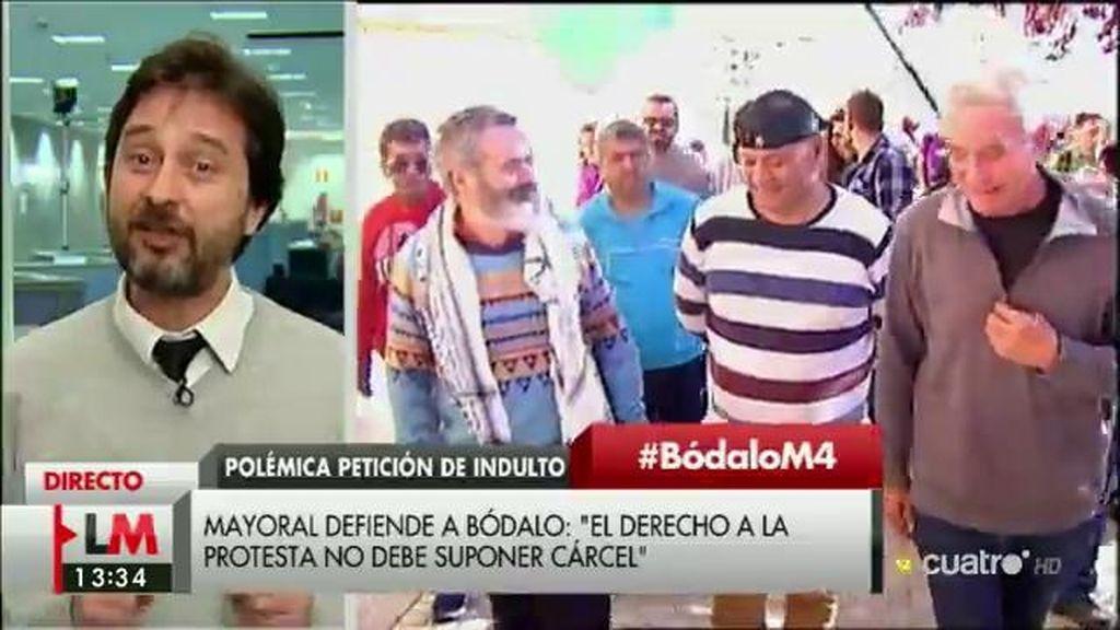 """Rafa Mayoral (Podemos): """"Hay una estrategia de persecución del movimiento sindical"""""""