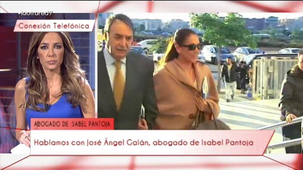 """J.Ángel Galán, abogado de Isabel Pantoja: """"Está desolada porque no se esperaba esto"""""""