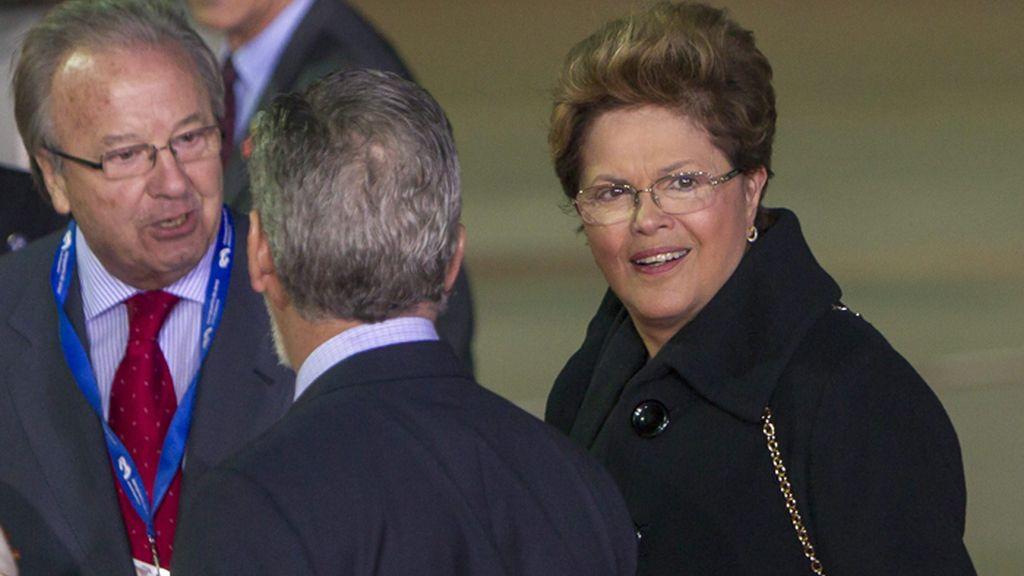 Llegada a Cádiz de la Presidenta brasileña, Dilma Rousself