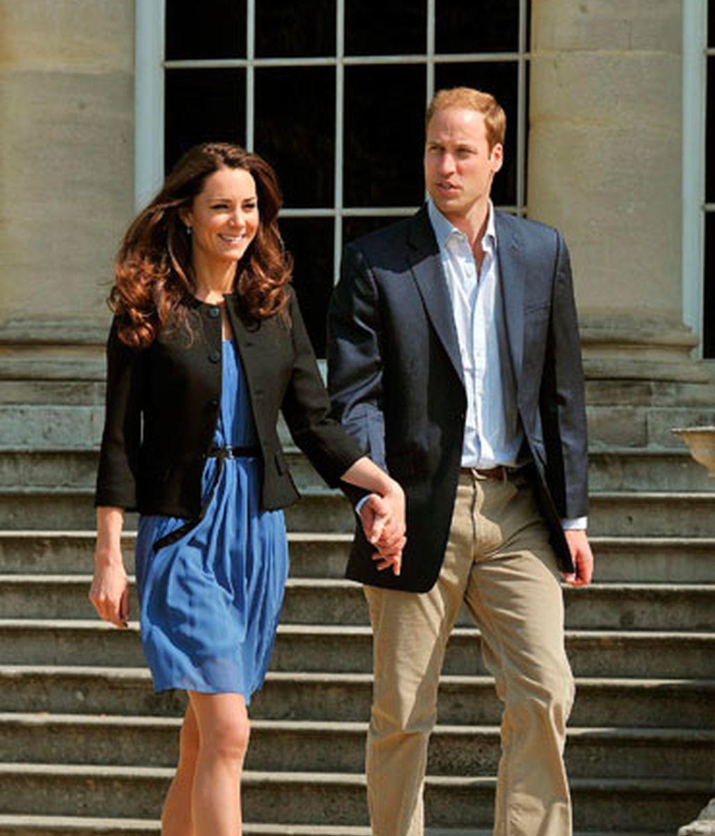 William y Kate, camino de su luna de miel