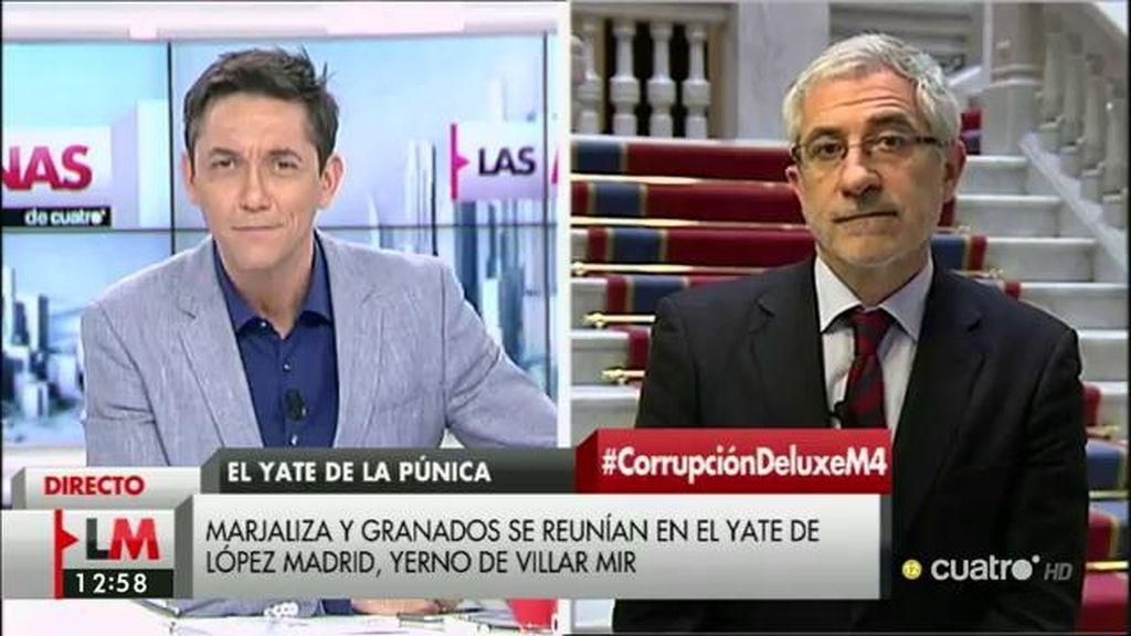 La entrevista a Gaspar Llamazares, a la carta