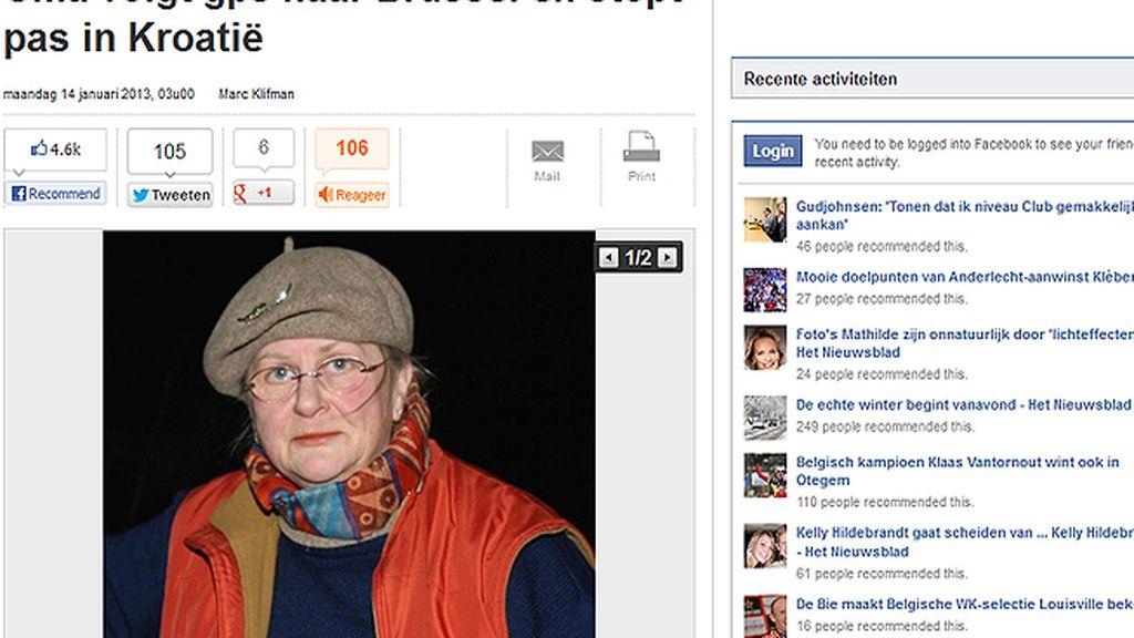 Sabine Moreau, ciudadana belga perdida por seguir al GPS
