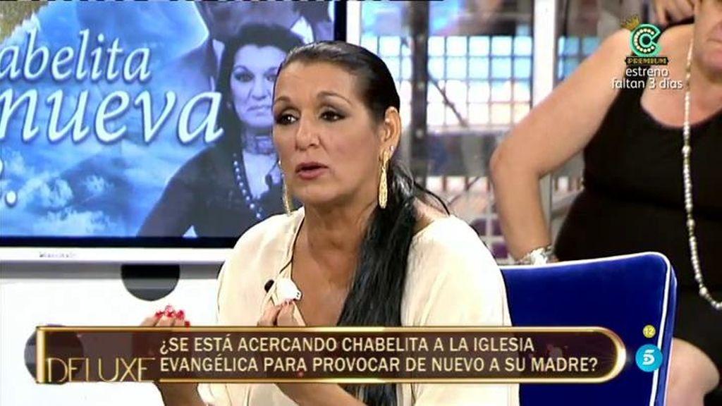 """Marta Amaya: """"Chabelita acude a la Iglesia Evangélica porque tiene pena en el alma"""""""