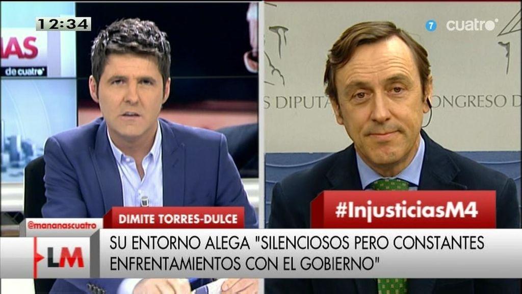 Rafael Hernando culpa a los medios del desprestigio de los políticos