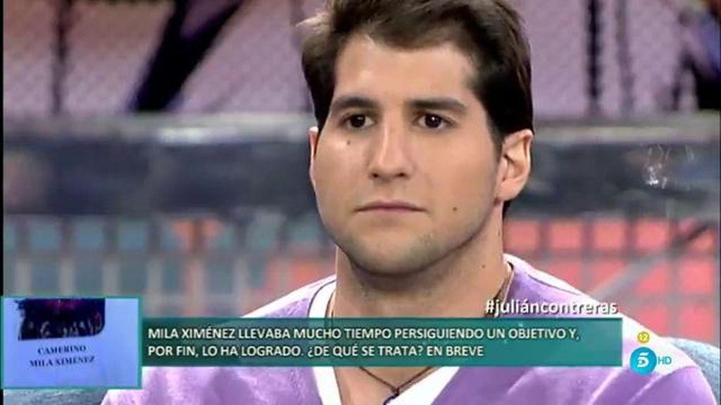 """Julián Contreras: """"No esperaba la llamada de mis hermanos, no tenemos contacto"""""""