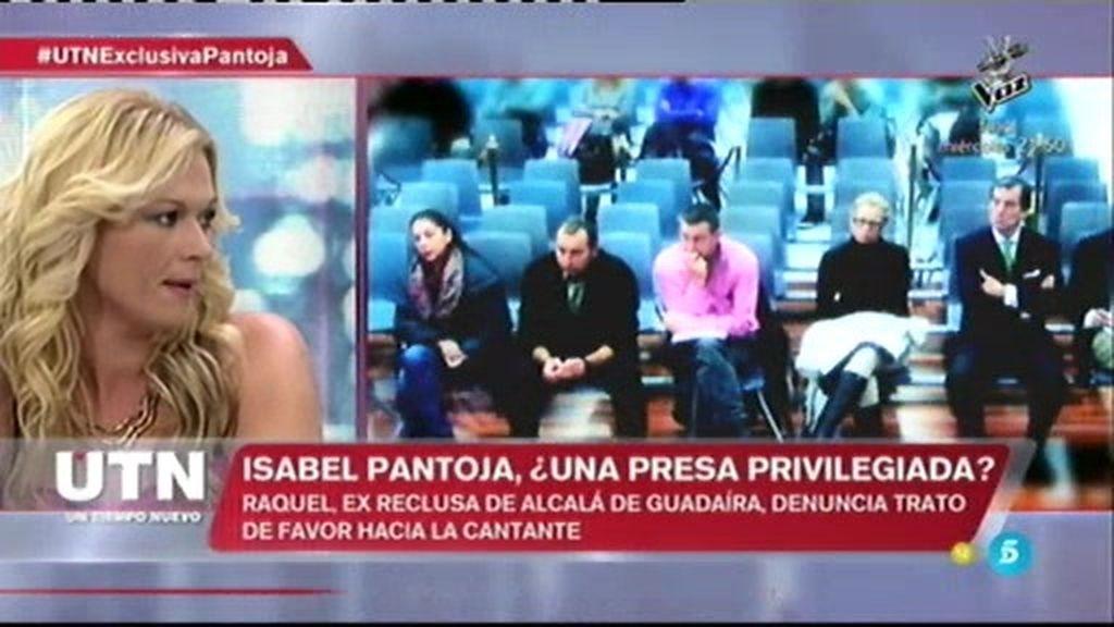 """Raquel Martínez Oliva, expresa: """"Isabel Pantoja está en una celda sola"""""""