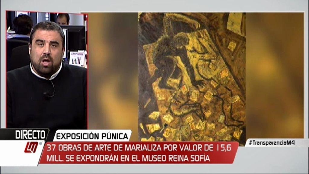 """Dani Montero: """"El patrimonio de Marjaliza debería revertir en las arcas públicas"""""""