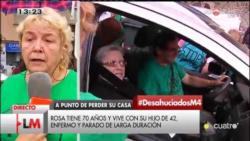 """Miembro de la PAH: """"España es la locomotora de los desahucios"""""""