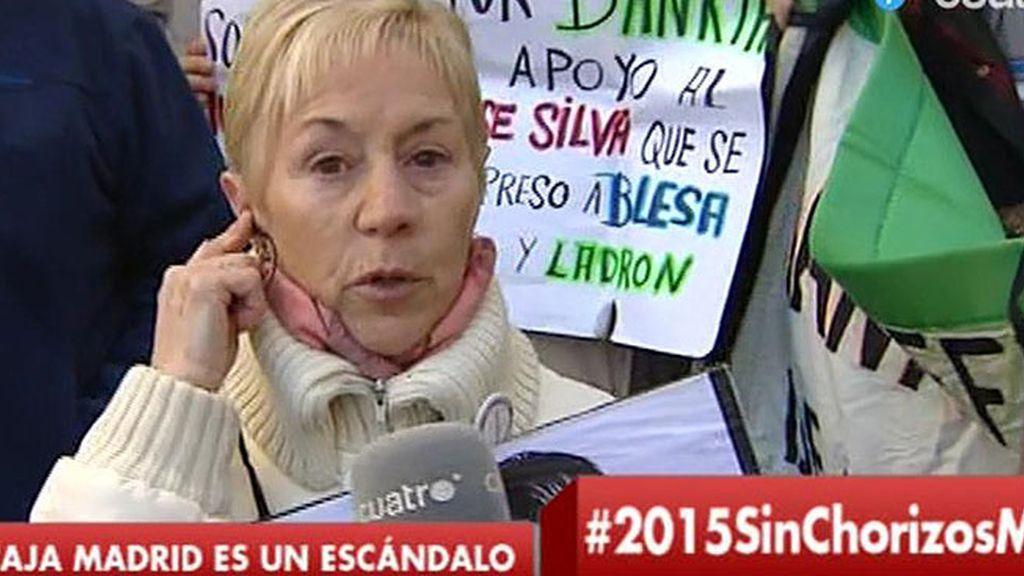 """Mª Carmen, preferentista: """"Pienso que este gobierno es el más corrupto"""""""