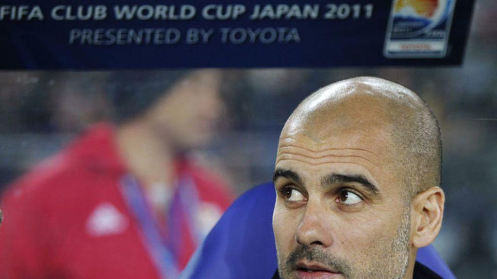 Guardiola, en Japón
