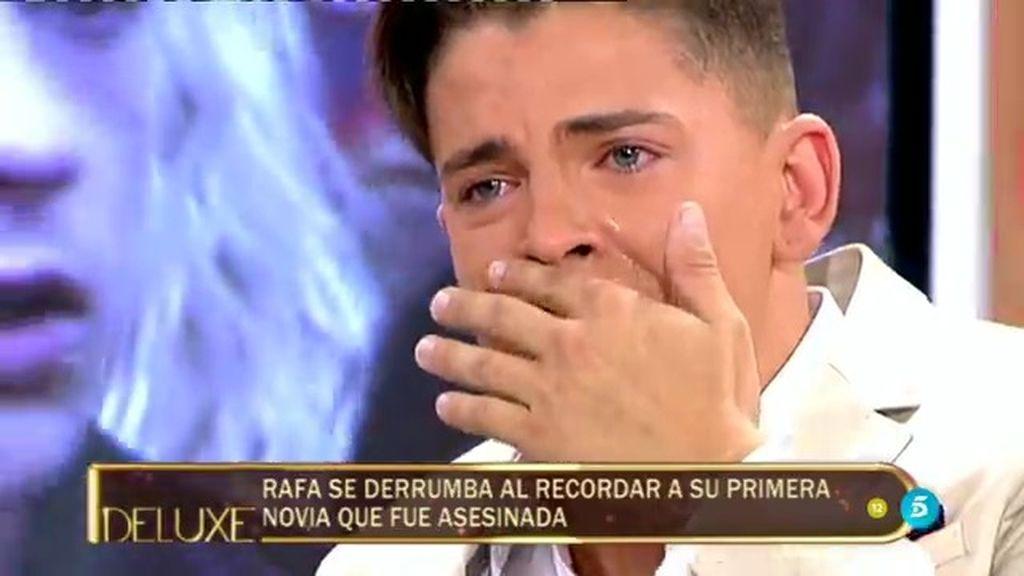 """Rafa, se derrumba al recordar a su exnovia asesinada: """"Yo defendía a su hermano"""""""