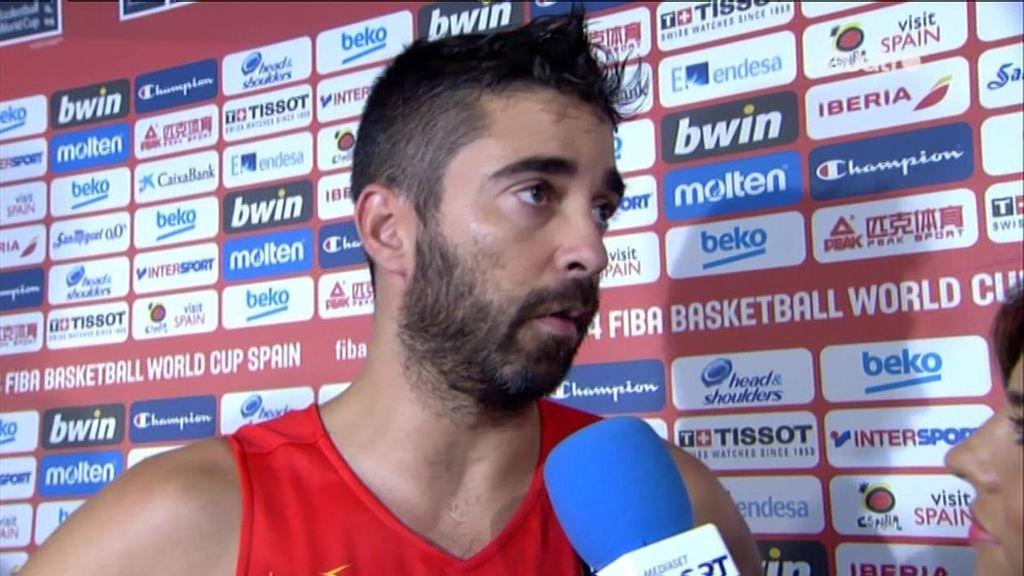 """Navarro, tras la derrota de España: """"No hemos preparado bien el partido"""""""