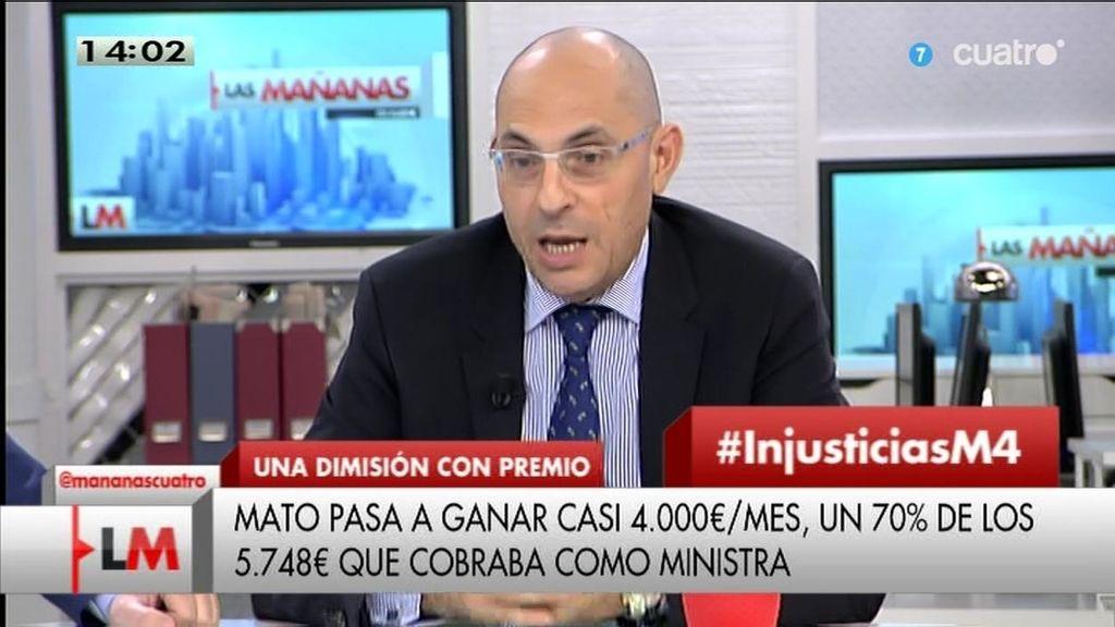 """Elpidio Silva: """"Los sindicatos no lo han podido hacer peor, saldrán datos tremendos"""""""