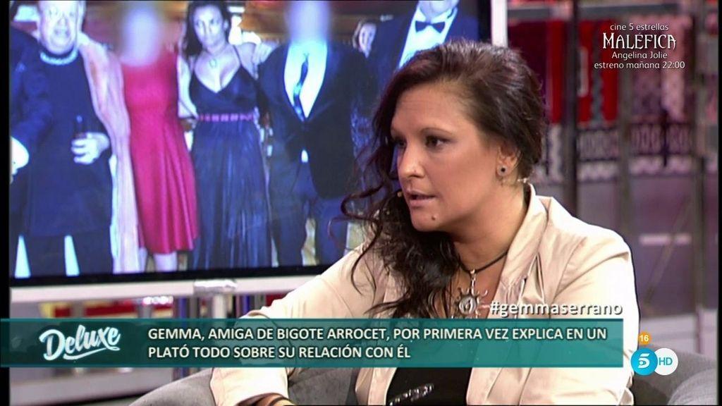 """Gemma, amiga de Arrocet: """"Con esas fotos alguien quiere hacer daño a María Teresa"""""""