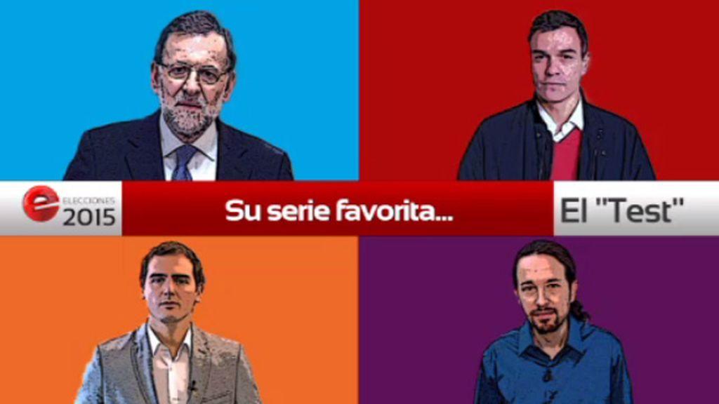 ¿Cuál es la serie favorita de los candidatos?