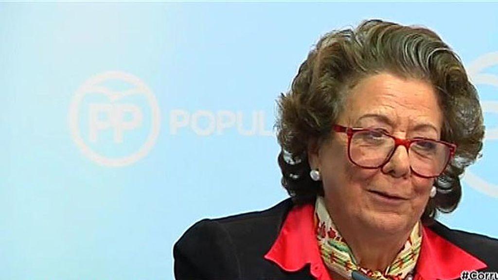Rita Barberá anuncia que comparecerá ante el juez voluntariamente