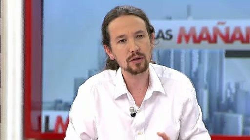 """Pablo Iglesias: """"No vamos a tener miedo de hacer cumplir la ley a los ricos"""""""