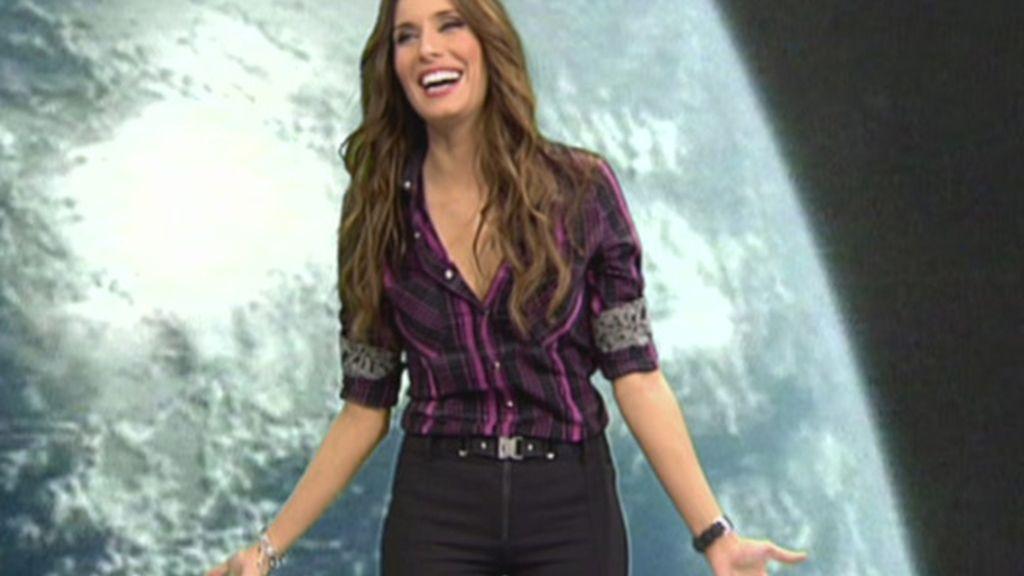 Pilar Rubio, muy rockera en 'Sálvame'