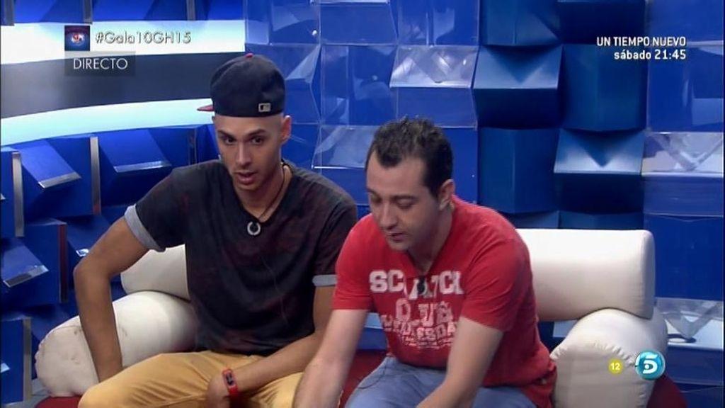 Omar y Vitín dan sus puntos Fran, Luis y Paula