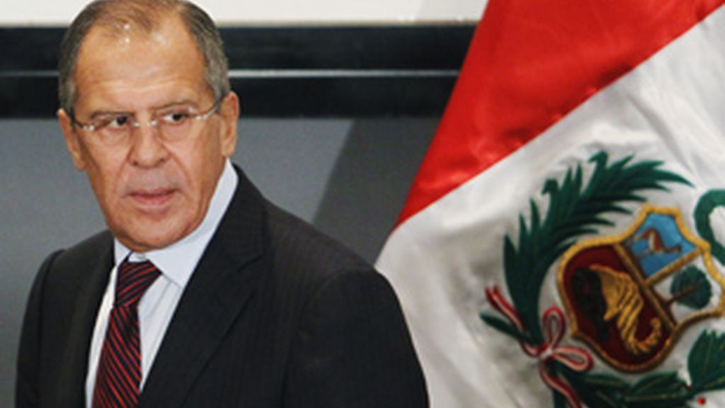 El ministro de Asuntos Exteriores ruso, Sergei Lavrov. Foto: Gtres