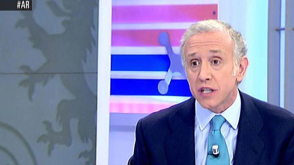 "Eduardo Inda: ""La comparecencia llega tarde pero Rajoy ha estado soberbio"""