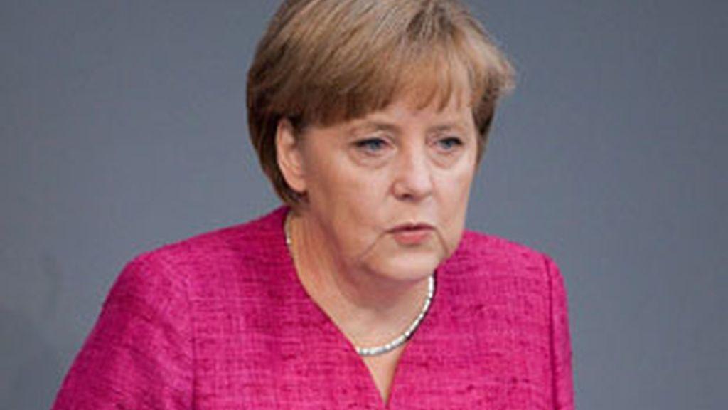 Merkel ha defendido su gestión de la crisis del E.coli. Vídeo: Informativos Telecinco.