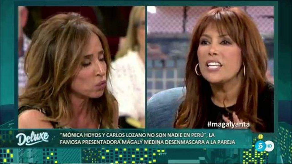 """Magaly Medina: """"Mónica no es importante en Perú, Carlos lo fue en 2012"""""""