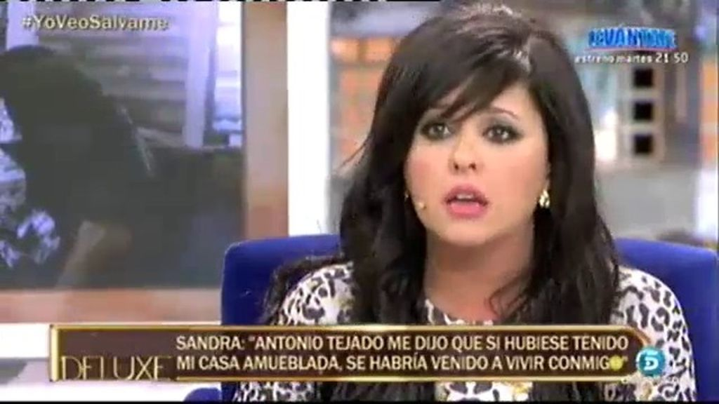 "Sandra: ""Me enteré que Antonio había vuelto con Alba porque me bloqueó en 'Whatsapp"""