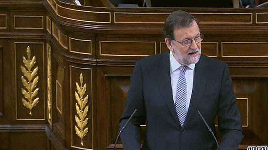 """Rajoy: """"Les deslumbra el brillo del pan para hoy y no recuerdan el hambre para mañana"""""""