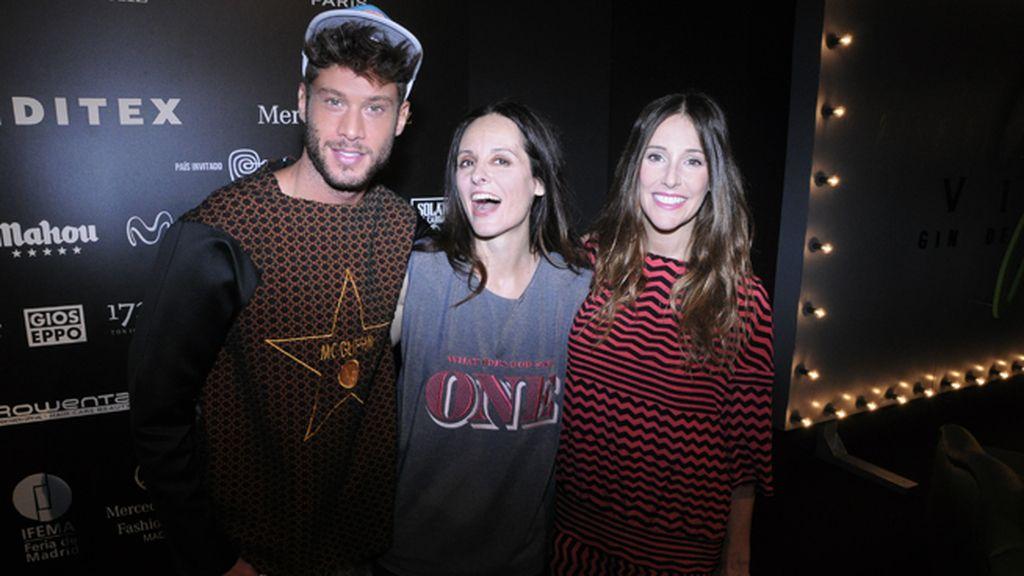 José Lamuño, Ana Locking y Adela Úcar