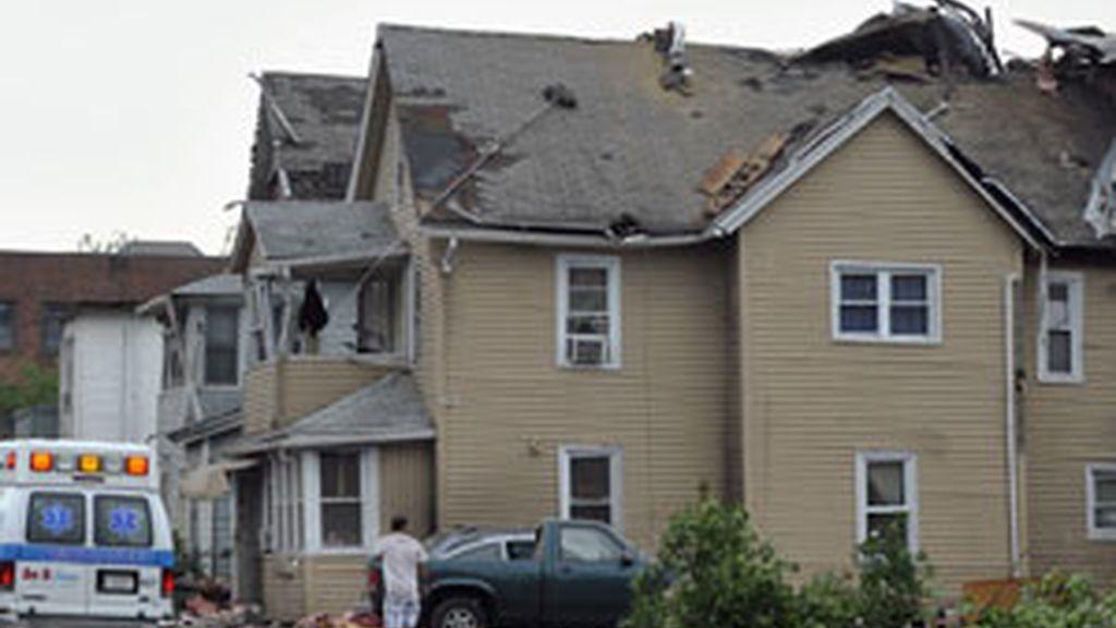 El tornado ha causado multitud de daños en la ciudad de Springfield. Vídeo: Informativos Telecinco