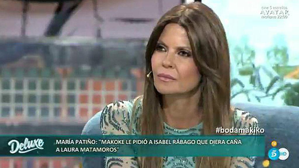 """Patiño: """"Isabel Rábago me ha contado llorando que pediste caña para Laura M."""""""