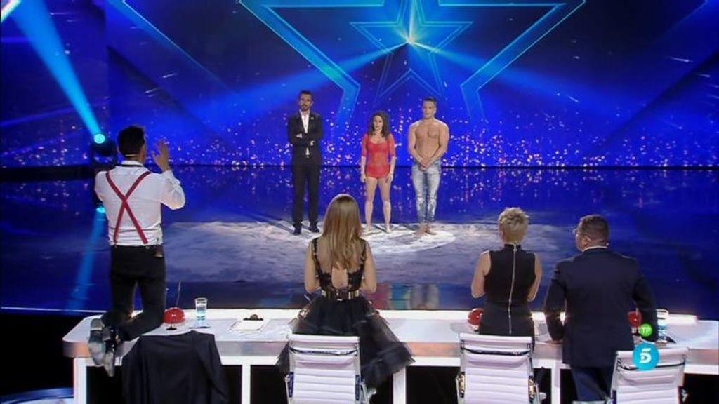 "Jesús Vázquez, de rodillas sobre la mesa: ""¡Bravo!, esto es 'Got Talent'"