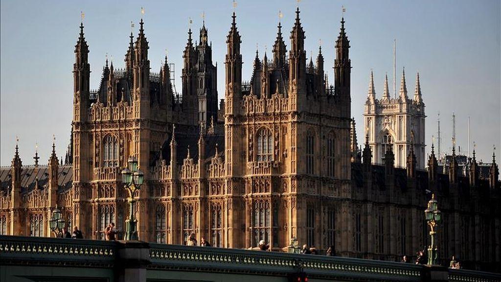 Imagen de la Cámara de los Lores en Londres, Reino Unido. EFE/Archivo