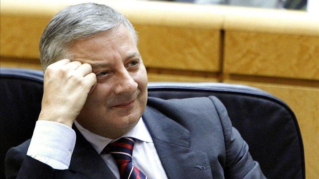 El ministro de Fomento, José Blanco. EFE/Archivo