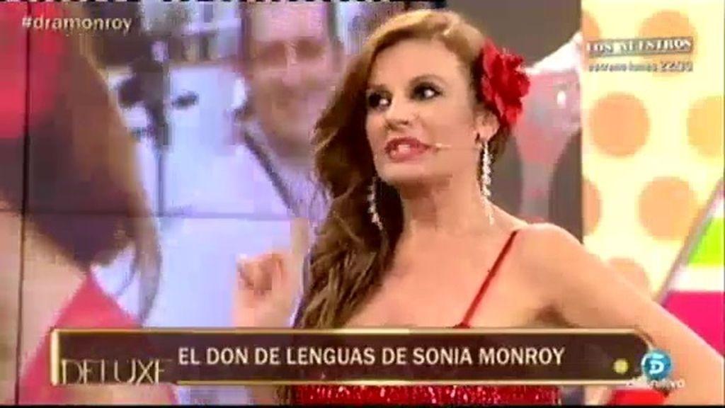 Sonia Monroy muestra su don de lenguas