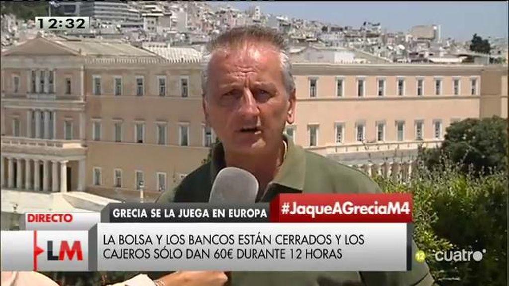 """Stravros: """"Con el no, los griegos miramos a la gente, no a los números"""""""