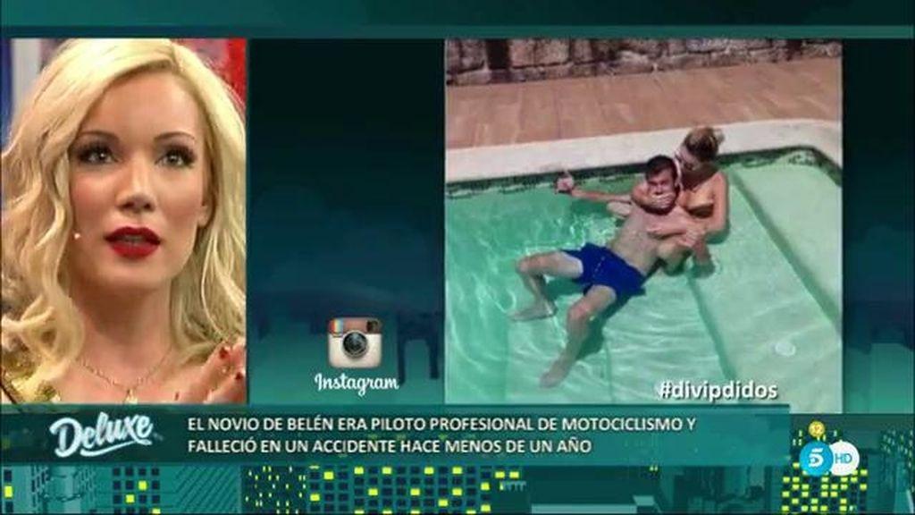 Belén Roca se emociona al recordar el día de la muerte de su novio Dani Rivas