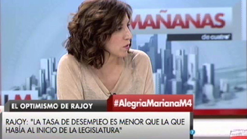 """I. Lozano (UPyD): """"¿Cómo puede pedirnos Rajoy que confiemos en él al mismo tiempo que nos está mintiendo?"""""""