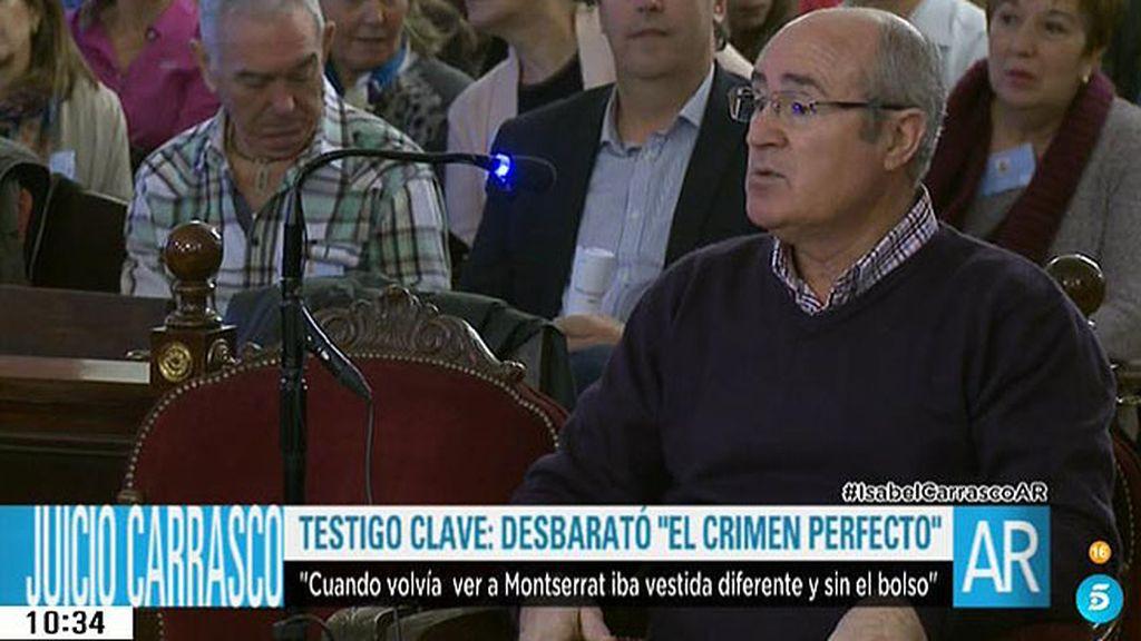"""Policía jubilado que vio el crimen: """"Montserrat la remató con tres tiros más"""""""