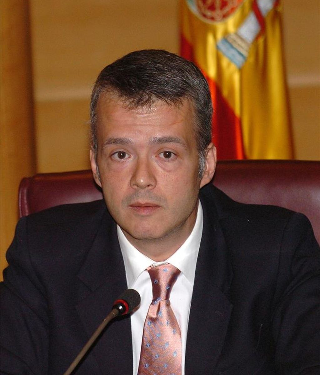 El secretario de Estado de Seguridad, Antonio Camacho, durante una comparecencia ante la Comisión de Interior del Senado. EFE/Archivo